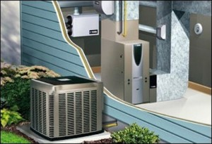 Изображение на монтирана термопомпена система